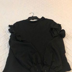 Black dressy blouse!